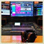Mixage du prochain album de Laurent Berrig