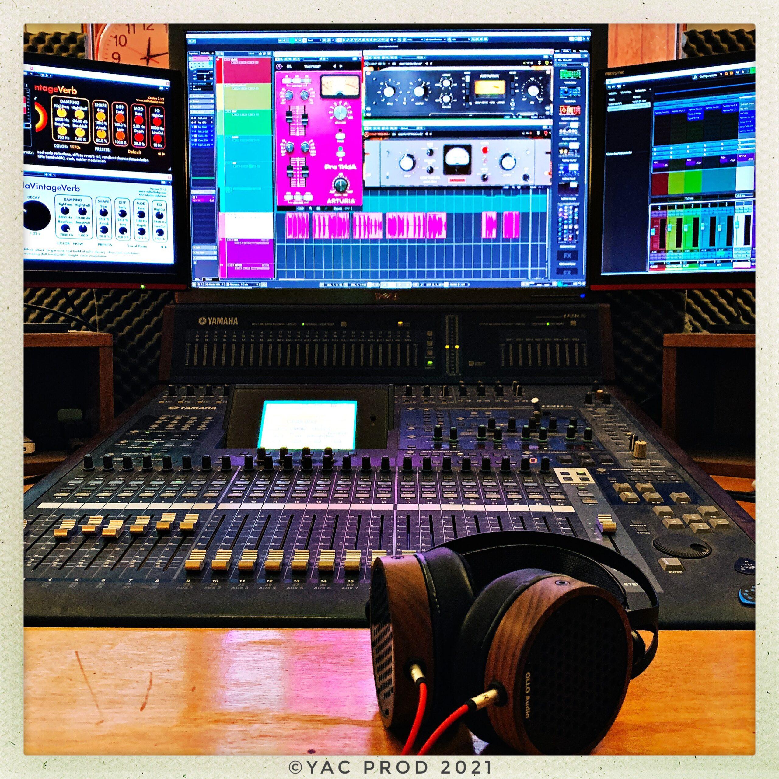 You are currently viewing Mixage du prochain album de Laurent Berrig
